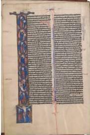 Biblia del siglo XIII