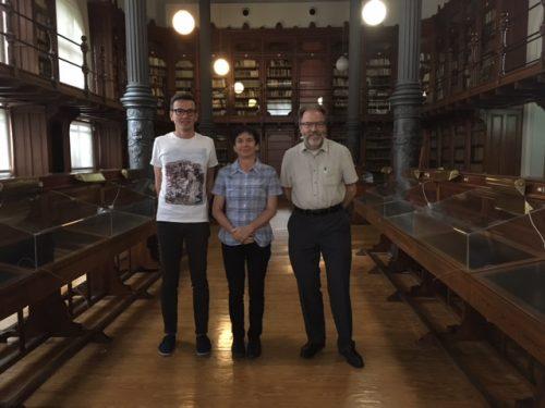Visita de dos bibliotecarios Erasmus de universidades polacas a la BUZ