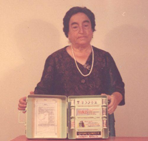 Ángela Ruiz Robles y su Enciclopedia Mecánica