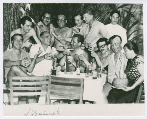 García Márquez y Luis Buñuel, entre otros