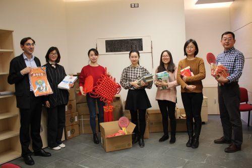 Donativo al Instituto Confucio de la Universidad de Zaragoza para la creación de la sección de sinología en la BUZ