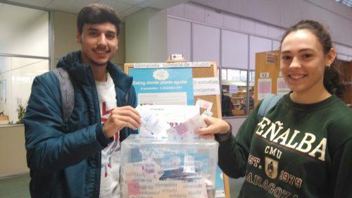Resultados de la Olimpiada Solidaria de Estudio 2017 en las bibliotecas de la Universidad de Zaragoza. Bca. F. de Veterinaria