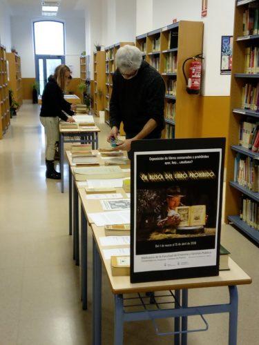 En busca del libro prohibido : Exposición de libros censurados y prohibidos ayer, hoy... ¿mañana?