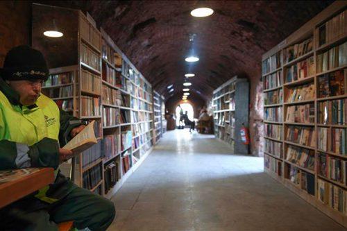 Biblioteca de los basureros de Estambul