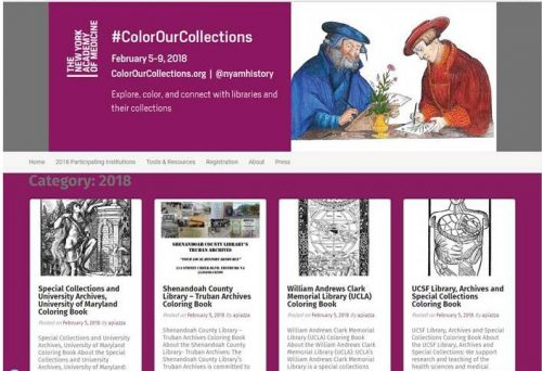 #ColorOurCollections 2018
