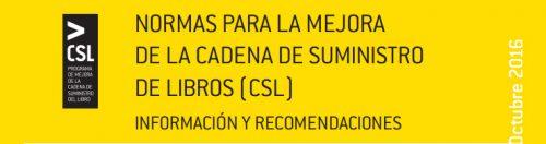 Normas CSL (Normas para la Mejora de la Cadena de Suministro de Libros)