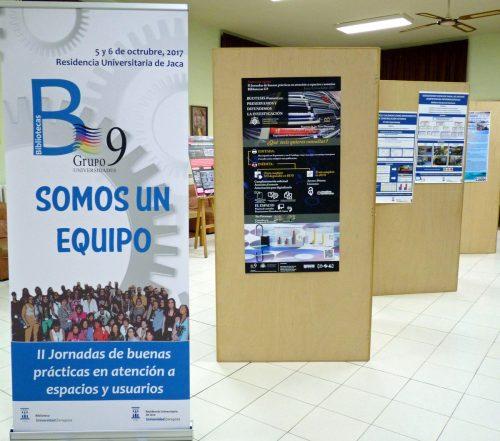 Jornadas de Buenas Prácticas en atención a espacios y usuarios que organiza el Grupo G9 de Universidades Jaca (Huesca) en 2017