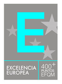 sello de Calidad Europea EFQM 400+