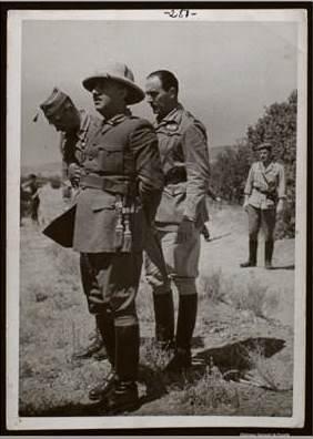 Campúa. Franco en el frente de Teruel
