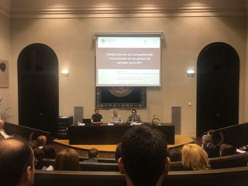 Seminario sobre Formación y evaluación de compentencias transversales
