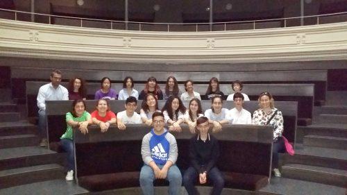 Visita a la Biblioteca del Paraninfo de un grupo de estudiantes del Colegio La Salle Montemolín (Zaragoza)