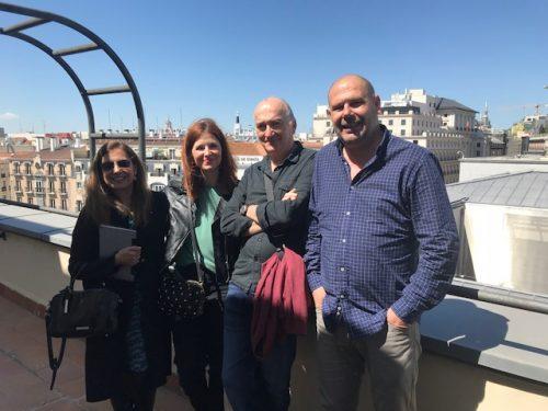 REUNIÓN DEL GRUPO UNICI2 EN MADRID, 27 DE ABRIL DE 2018
