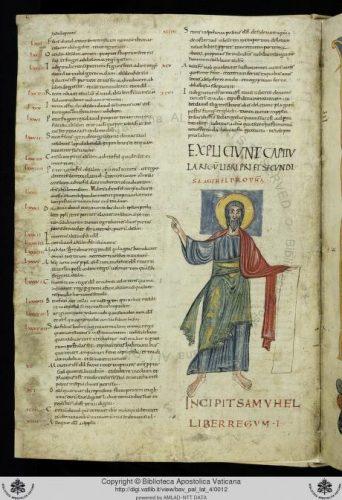 Biblioteca Vaticana. Pal. lat. 4 Biblia: Testamentum vetus