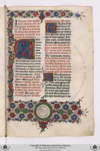 Biblioteca Vaticana. Misal franciscano, 1472