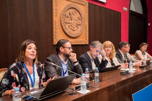 Elena Escar (BUZ) en las IX Jornadas de Reflexión y Debate de las Unidades de Calidad de la Universidades Españolas