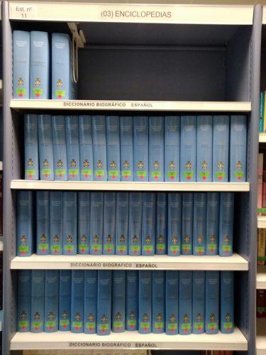 El Diccionario Biográfico Español en la Biblioteca de Humanidades María Moliner de la Universidad de Zaragoza