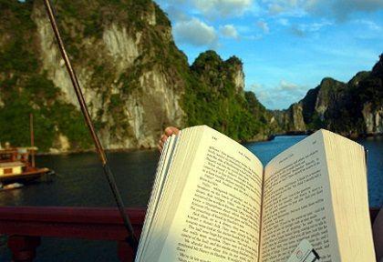 Biblioideas : Leer viajando / Viajar leyendo