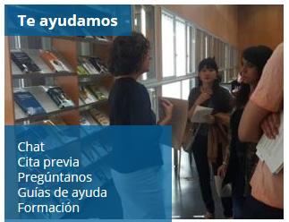 Portal del Estudiante de la Biblioteca de la Universidad de Zaragoza: Te ayudamos