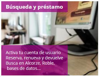 Portal del Estudiante de la Biblioteca de la Universidad de Zaragoza: Búsqueda y préstamo