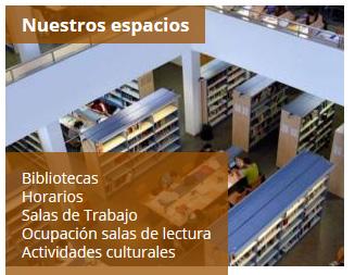 Portal del Estudiante de la Biblioteca de la Universidad de Zaragoza: Nuestros espacios