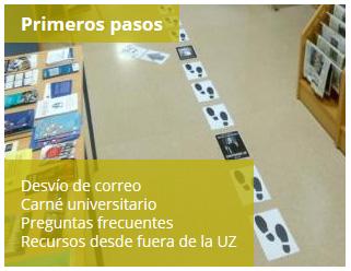 Portal del Estudiante de la Biblioteca de la Universidad de Zaragoza: Primeros pasos