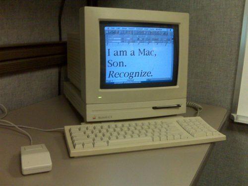 Macintosh LC II computer, circa 1992