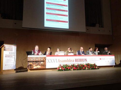 XXVI Asamblea de REBIUN. Presentaciones de los Grupos de Trabajo