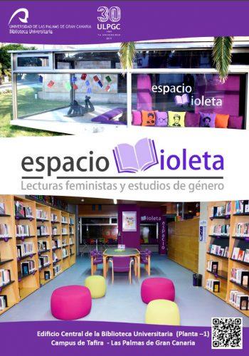Espacio violeta, en la Biblioteca de la Universidad de Las Palmas