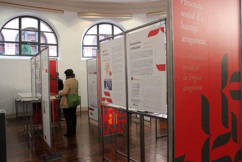 """Exposición """"L'aragonés, un patrimonio común"""", en el Paraninfo de la Universidad de Zaragoza"""