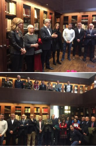 La Universidad de Zaragoza dedica la sala de investigadores de la Biblioteca en el Paraninfo al exrector Manuel López