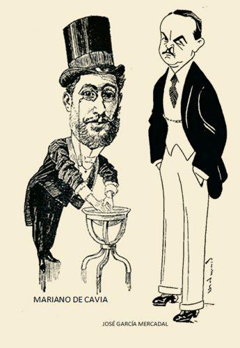 Mariano de Cavia y José García Mercadal