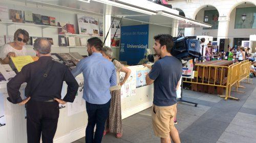 La Biblioteca de la Universidad de Zaragoza en la Feria del Libro de Huesca