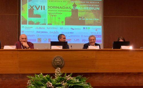 XVII Jornadas CRAI-REBIUN. Sevilla 2019