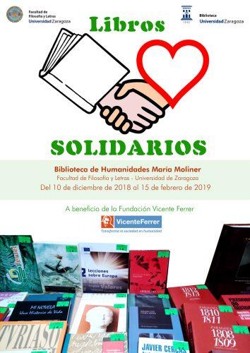Libros solidarios 2018-2019 en la Biblioteca María Moliner