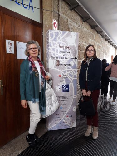 II Jornadas de Gestión del Patrimonio Bibliográfico. Julia Martín y Paz Miranda (Biblioteca General U.Z.)