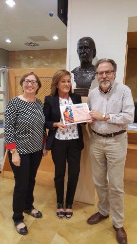 Agradecimiento de la Fundación Vicente Ferrer a la Biblioteca de Humanidades María Moliner