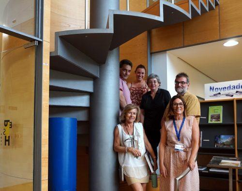 equipo de trabajo interdisciplinar Formación CI_EPS