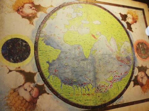 """Exposición """"V Centenario de la Primera Circunnavegación de la Tierra. Atlas y códices iluminados de los 40 años que cambiaron el mundo"""""""
