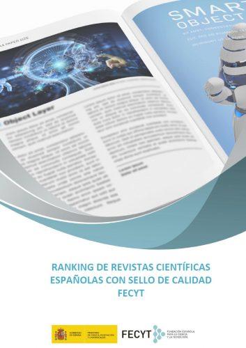 Ranking de las revistas científicas españolas con sello de calidad FECYT