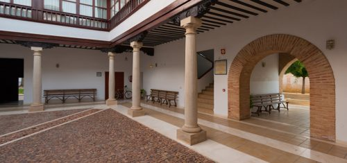 Sede de las Jornadas: Palacio de los Condes de Valdeparaíso. Almagro.