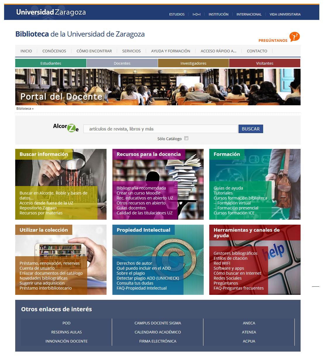 Portal del docente: Una puerta digital a la biblioteca creada para ti