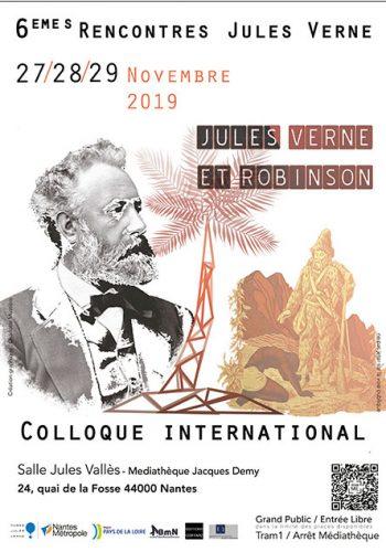 Congreso sobre Verne en Nantes 2019