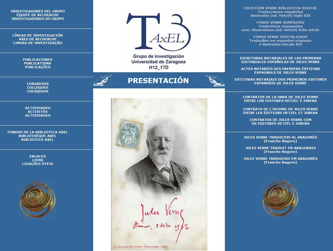 Las primeras ediciones en español de Julio Verne en Internet